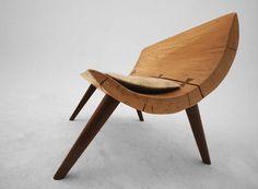 gürsan ergil; reclaimed wood bench