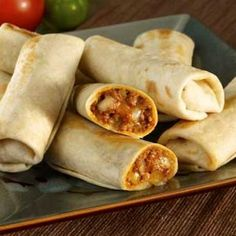 The best burrito recipe I've found! Beef Burritos Recipe from Stanelle