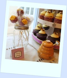 Winnie the Pooh Birthday Party Sweets Table