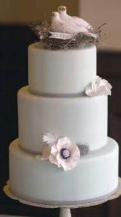 Pigeon cake decoration