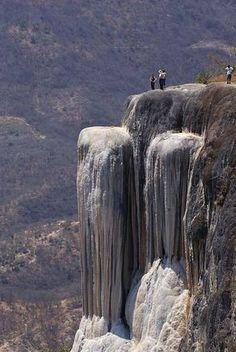 Las cascadas petrificadas en Oaxaca, un hermoso lugar en el cual te sientes completamente vivo!!