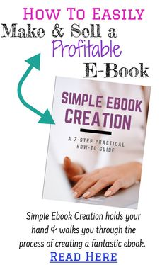 How to easily make a PDF ebook for FREE - step by step instructions for making a e-book. Make More Money, Make Money Blogging, Blog Names, Blog Planner, Blogger Tips, Blogging For Beginners, Pinterest Marketing, Mom Blogs, Writing Tips