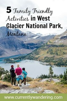 Thinking of visiting Glacier National park with your family? The park is so huge we broke our visit into two - check out our top 5 activities for the west side! Paris one of the wonders of the world Glacier National Park Camping, Glacier National Park Montana, Glacier Park, West Glacier Montana, Vacation Trips, Vacation Spots, Vacations, Vacation Travel, Vacation Ideas