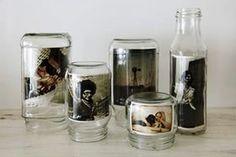 空き瓶(メイソンジャーなど)を使ったおしゃれな写真の飾り方・方法と参考作例集。 - NAVER まとめ
