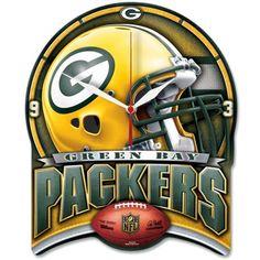 NFL Green Bay Packers Clock – Me Love Sports
