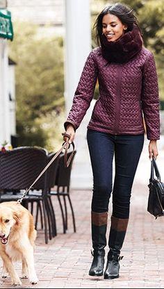 Women's Packable Primaloft Jacket