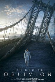 Oblivion (2013) A veteran assigned to extract Earth's remaining resources begins to question what he knows about his mission and himself.