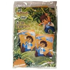 Nickelodeon Go Diego Go! Inflatable Arm Floats (Set of 2)