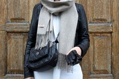 homevialaura | style | Balmuir Highland scarf in Sand | cashmere scarf www.balmuir.com/shop
