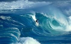 Awesome surf.