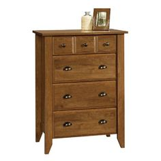 Sauder Shoal Creek 4-Drawer Chest, Oi…