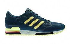 official photos a30cb f40a8 adidas Originals ZX 750 – Green  Yellow sneakers kicks