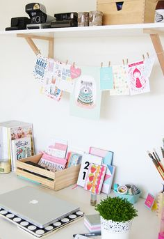 A Little Bedroom Creative Space | Heart Handmade uk