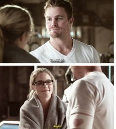 Oliver and Felicity in #2x07 #Olicity #Arrow #StatevQueen