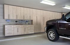 Without an appropriate organization of the garage it is hard to use the space. Read this article for advice to clear clutter and use garage organizers. Garage Organization Tips, Garage Storage Cabinets, Garage Storage Solutions, Diy Garage Storage, Garage Shelving, Storage Ideas, Tool Storage, Cabinet Storage, Bike Storage