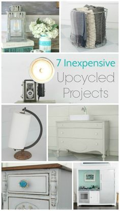 These thrifty home projects by Lovely,Etc are great ways to save money while adding inexpensive style! See them all at diy beautify!