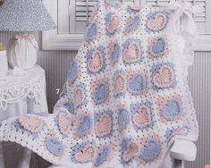 Sweetheart Baby Afghan Crochet Patterns