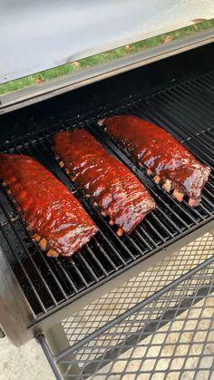 Smoked Meat Recipes, Rib Recipes, Indian Food Recipes, Smoked Pork Ribs, Bbq Pork Ribs, Summer Grilling Recipes, Fire Cooking, Smoking Recipes, Campfire Food