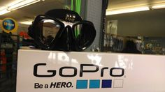 New go-pro mask are in.