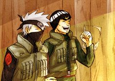Kakashi and Gai
