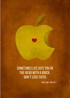 Don't Lose Faith - Steve Jobs