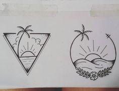 "Gefällt 74 Mal, 6 Kommentare - Anna León (@delong1925) auf Instagram: ""Disseny per a tatuatge! @martalion3 . . . . #ibiza #tattoo #art #disseny #tattoobeach #sun #nature…"" Sunset Tattoos, Ocean Tattoos, Nature Tattoos, Little Tattoos, Mini Tattoos, Up Tattoos, Body Art Tattoos, Tatoos, Mandala Sun Tattoo"