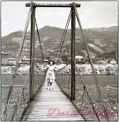 el puente colgante 1960