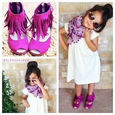Those Joyfolie shoes are too cute...this little one has style!!!!