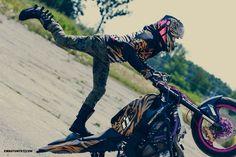 I'm born to be wild! #iconmotosports #rideicon #iconshaguar #kawasaki #ridinggear #helmetporn #twowheelslife #rideamongus #icon1000 #motorcycles #girlsonbikes