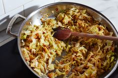 Spend 1 1/2 hours on Sunday making Marcella Hazan's smothered cabbage. You'll be rewarded with 9 different dinners.