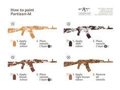 How to paint Partizan-M