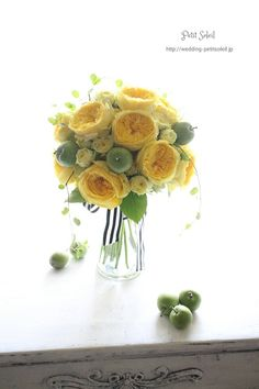 ブーケ 黄色 イエロー yellow bouquet