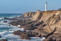 Gorgeous, lonely, stunning... You have to see these California lighthouse pictures: Point Arena Lighthouse