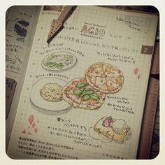 ryokura 2/21。なかなか書く時間がとれない…(T-T) #ほぼ日手帳 #hobonichi | Use Instagram online! Websta is the Best Instagram Web Viewer!