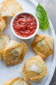 Fresh mozzarella and basil bites | Just a good recipe
