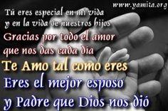 feliz dia del padre mi amor te amo Eres el mejor esposo y Padre que Dios nos di  300x199