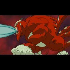 (伝説のレアエックス: 四尾の巨獣 • 孫悟空) Legendary rare X: Four-tailed Beast, Son Goku - Finishing move: Tailed-Beast Ball & Monkey Flame Arson
