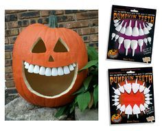 Dental implants, pumpkin carving…this looks so funny! Halloween Candy, Holidays Halloween, Halloween Crafts, Happy Halloween, Halloween Decorations, Halloween Ideas, Halloween Teeth, Halloween Costumes, Fall Crafts