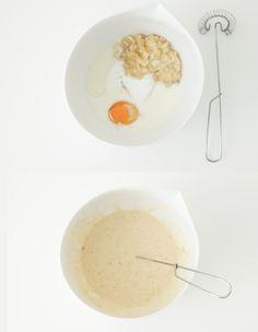 Recepten voor kinderen: pannenkoek met banaan - ministijl