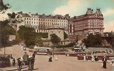 Old Photos Of The United Kingdom,Pictures And Postcards Of Great Britain, England,Scotland And Wales,Victorian and Edwardian old photos and vintage postcards of the British Isles. Yorkshire England, North Yorkshire, Scarborough England, Robin Hoods Bay, Anglo Saxon, Seaside, Countryside, The Good Place, Britain