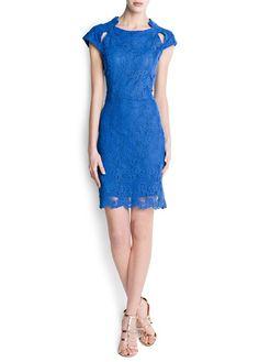 Vestido guipur aberturas 59,99€   ref. 83439511 - Guipito