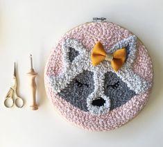 Sheep embroider pillow case Alpaca embroidery decor Llama pillow Soft deco linen pillow case Sheep p Diy Embroidery, Embroidery Stitches, Diy Broderie, Punch Needle Patterns, Alpaca, Penny Rugs, Punch Art, Linocut Prints, Rug Hooking