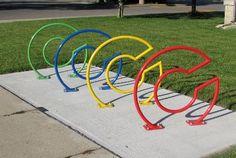 Columbus, IN NEW Bronze BFC - Bike racks Columbus, IN