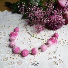 Perly Šípkové Růženky Crochet Necklace, Necklaces, Jewelry, Jewlery, Jewerly, Schmuck, Jewels, Jewelery, Collar Necklace