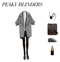 Peaky Blinders by kaylah-del-romano on Polyvore featuring Miss Selfridge, SPANX, Jonathan Simkhai, Jeffrey Campbell, Hidesign, Cathy's Concepts, Stetson and Artecnica