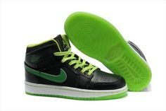 size 40 b8511 72ed0 Kids Air Jordan 1 Phat Black Green! 68.30USD Jordan Shoes For Men, Air