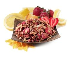 Strawberry Lemonade Herbal Tea :: Caffeine-Free! | Blend it with any of our other 6 summer teas!