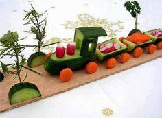 Fika a Dika - Por um Mundo Melhor: Esculturas de Legumes e Frutas