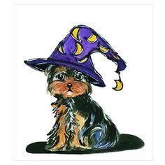 Yorkie Poo Witch