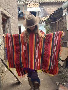 Peruvian Wool Poncho Large Soft Natural Quechua by LivingAltar, $128.00    https://www.etsy.com/listing/120064393/peruvian-wool-poncho-large-soft-natural?ref=v1_other_1